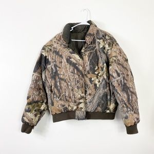 Browning Insulated Hunting Parka Coat Mossy Oak XL